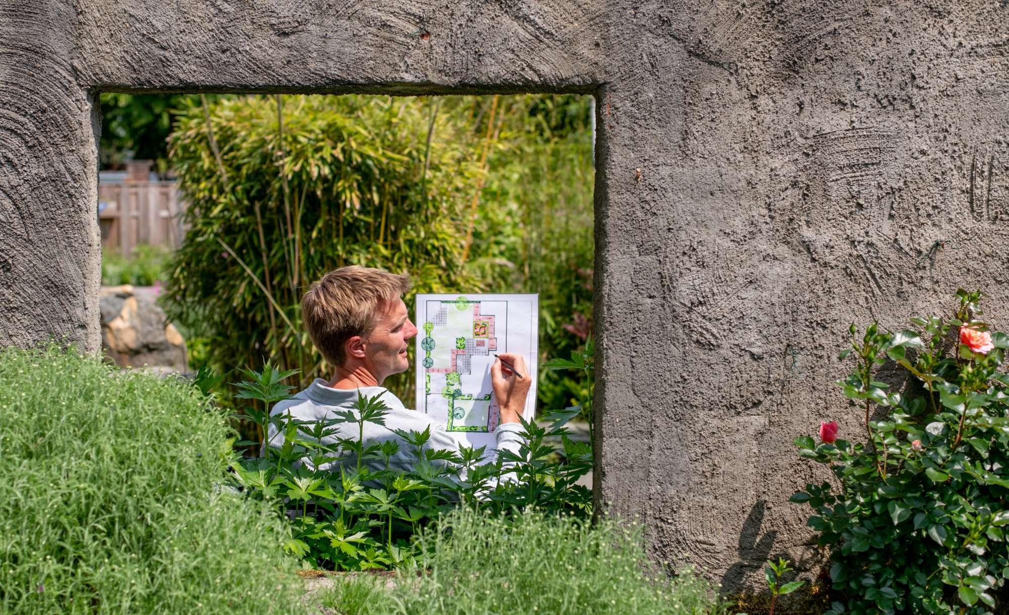 Tuin ideeen opdoen hovenier en tuinontwerp buitengevoel.nu