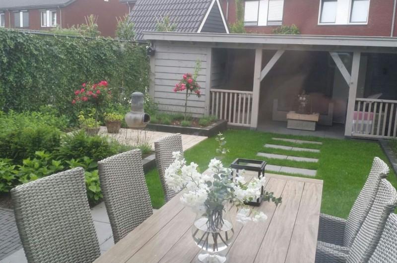 tussenwoning tuin