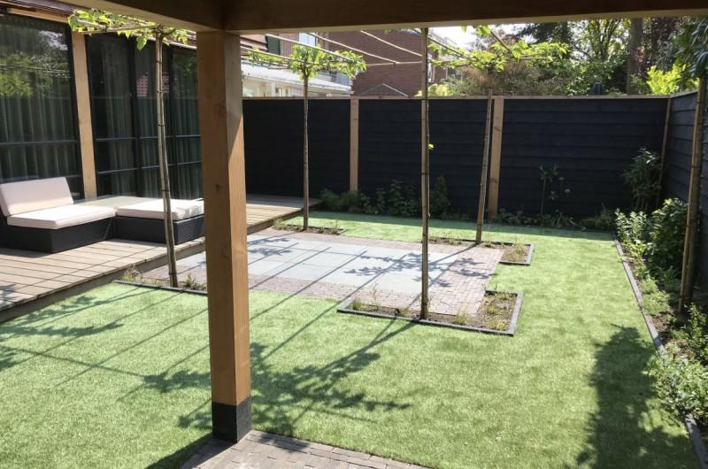 Onderhoudsvriendelijke tuin in binnenstad