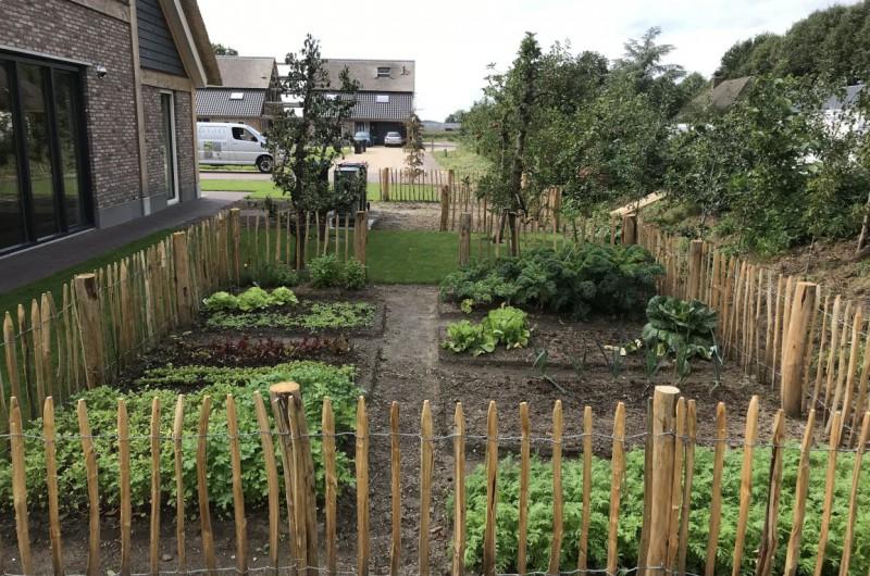 Fruittuin, eetbare tuin en moestuin