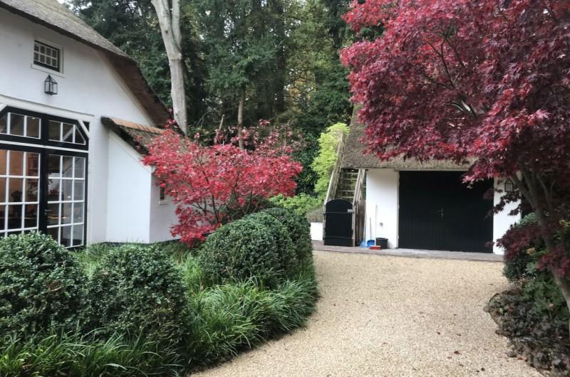 Villa tuinen met landelijke kenmerken